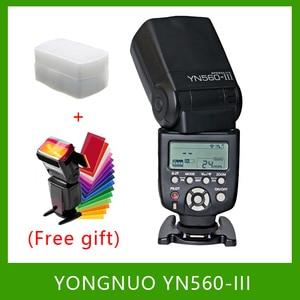 Image 1 - YongNuo YN560 III YN560III Flash Speedlite latarka do Canon Nikon Pentax Olympus Panasonic lustrzanka cyfrowa aktualizacja YN560 II