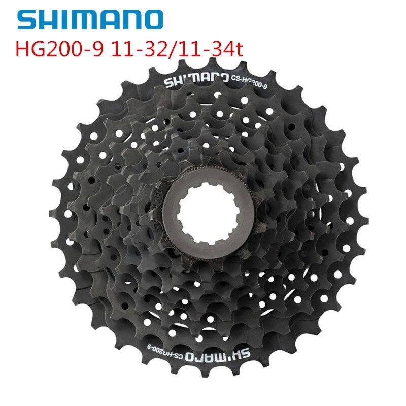Shimano Acera HG200 bike fahrrad mtb HYPERGLIDE 9 geschwindigkeit kassette 11-32t/11-34t