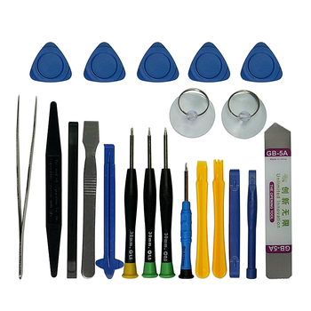 цена на Hand Tools Set  21pieces  Pry Opening Tool Screwdriver Set Mobile Phone Repair Tools Kit  for iPhone Samsung Phone
