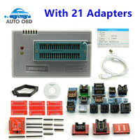 Free Shipping V6 1 TL866CS Programmer 21 Adapters IC Clip High Speed TL866 AVR PIC Bios