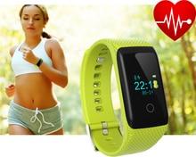 Smart Bracelet Heart Rate Monitor V16 Smart Band Fitness Tracker Pulse Monitoring Bluetooth Pedometer WristBand PK TW64 H18 K2