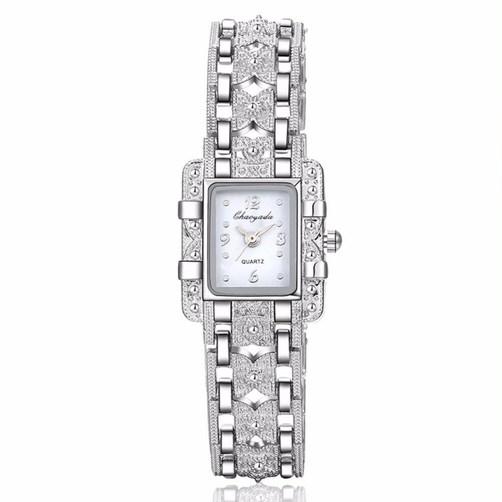 Luxury Fashion Rhinestone Bracelet Watches Women Ladies Crystal Dress Quartz Wrist Watch Relogio Feminino w-01 luxury women rhinestone bangle crystal flower bracelet quartz wrist watch men fashion sale hot style selling