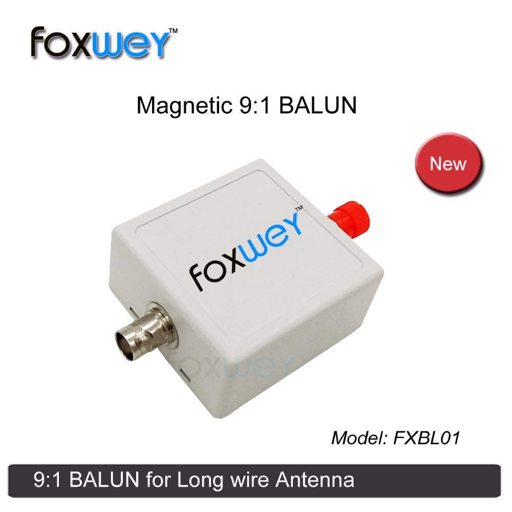 Magnetic 9:1 HF BALUN for Beverage antenna Long wire antenna RTL SDR Software radio receiver (software defined radio) FOXWEY image
