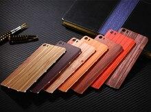 패션 Xiao mi 5 Mi5 M5 다시 배터리 커버 Xiaomi mi 5 주택 교체 부품에 대 한 플라스틱 나무 대나무 패턴 케이스를 서 리 낀