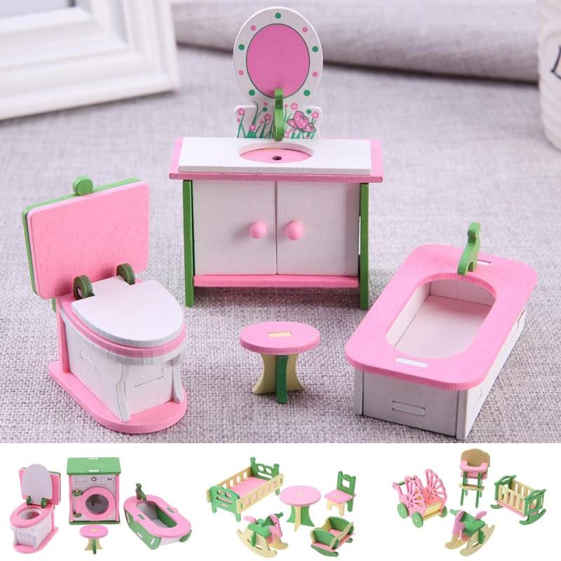 MyTinyWorld Dolls House Miniature 3 Piece Cloakroom Accessory Set