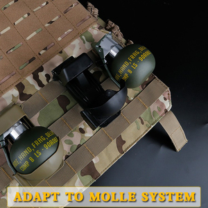 Image 3 - Airsoft M67 Dummy Grenade Model Waist Clip Plastic Molle System M 67 Gren Pouch Storage for Outdoor Cosplay Tactical Paintball