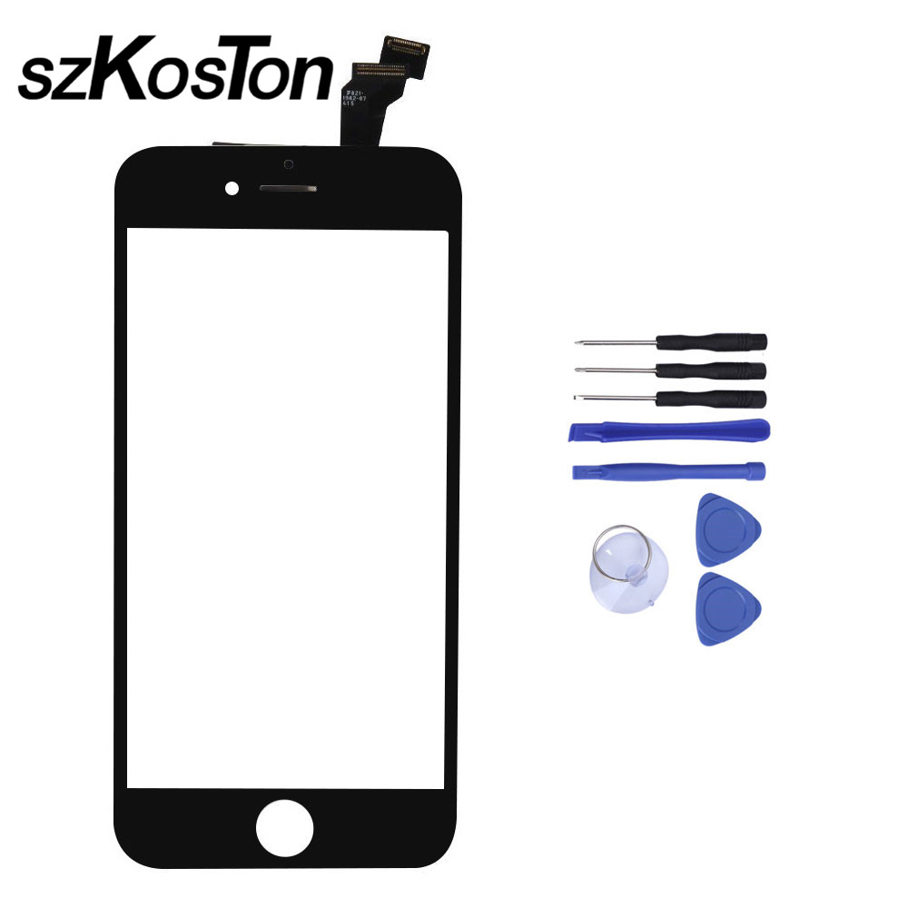 4 to 4.7 Cell Phone For iPhone 5s 6 Touch Panel Touch Screen Digitizer Front Glass Senso ...
