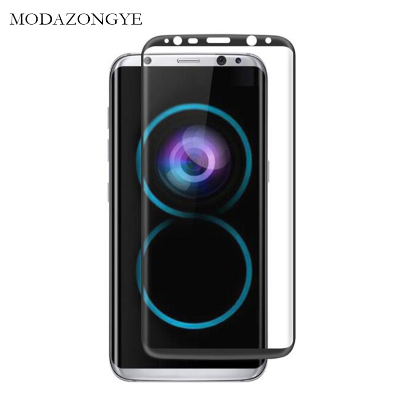 For Samsung Galaxy S8 Plus Full Cover Tempered Glass For ...