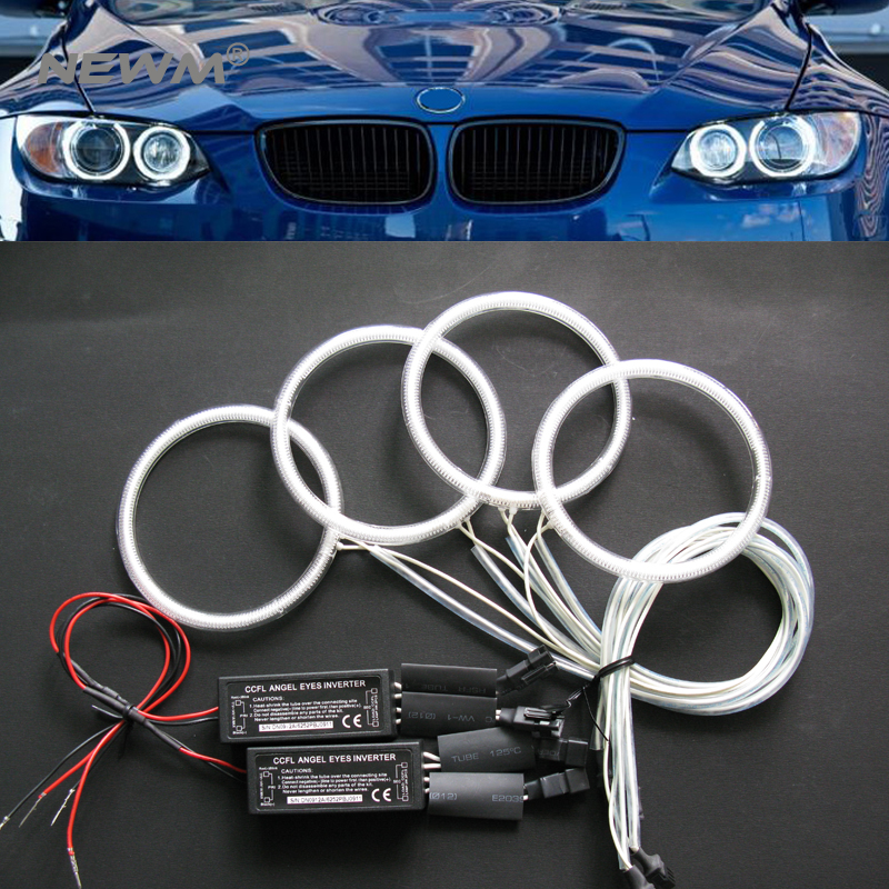 Hot selling car accessories universal size ccfl angel eyes ring 60 65 72 75 80 85 90 94 100 106 115 120 140 145mm halo ring bulb