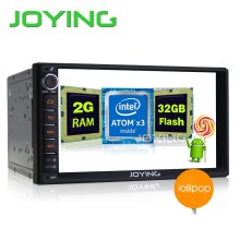 2G RAM Android 5.1 Double 2 Din car-styling Stereo GPS Navigation Car Radio Player with 4G wifi GPS Quad Core Headunit
