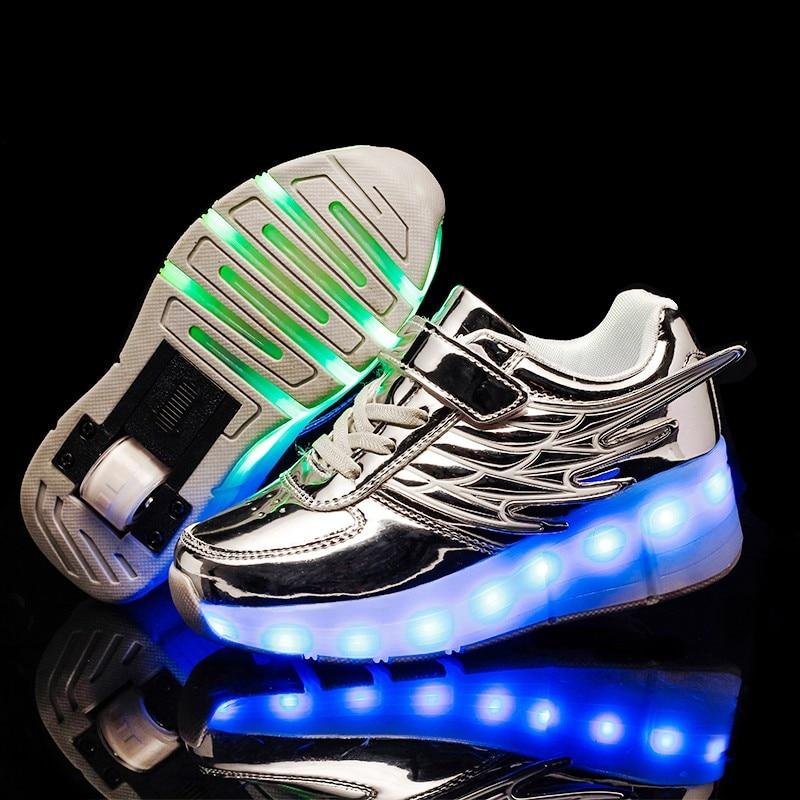 2020 usb de carregamento luminoso sapatos tenis 01