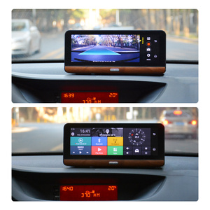 "Image 4 - Junsun E31P Pro araba dvrı kamera 4G ADAS 7.80 ""Android OS GPS Navigator kayıt Video araç kamerası kaydedicisi ile iki kamera ayna"