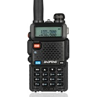 uv 5r uv Baofeng UV-5R מכשיר הקשר מקצועי CB רדיו תחנת משדר 5W VHF UHF Portable UV 5R ציד Ham Radio בספרד DE (3)