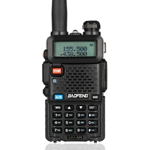 Image 3 - Baofeng UV 5R Walkie Talkie Professional CB Radio Station  Transceiver 5W VHF UHF Portable UV 5R Hunting Ham Radio In Spain DE