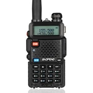 Image 3 - Baofeng UV 5R Walkie Talkie Professionelle CB Radio Station Transceiver 5 W VHF UHF Tragbare UV 5R Jagd Ham Radio In spanien DE