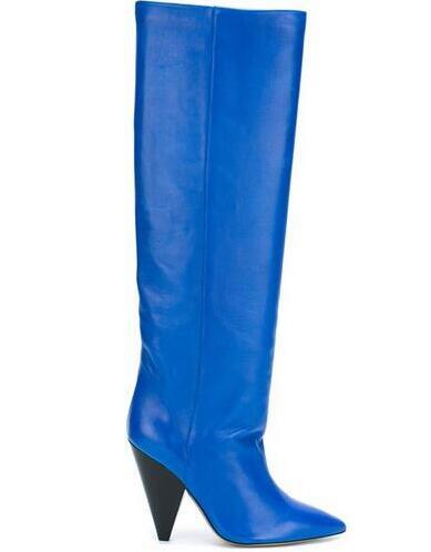 Модные женские зимние сапоги в австралийском стиле; вязаные женские зимние уличные ботинки с 3 кнопками; Брендовая обувь; IVG; размеры US5 11; Бес... - 3