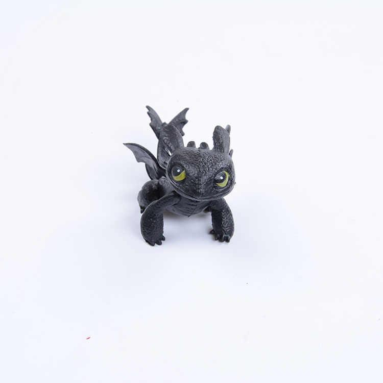Como Treinar O Seu Dragão Desdentado Figura de Ação Toyless MZQ019 Desdentado Brinquedos para Presentes de Aniversário das Crianças