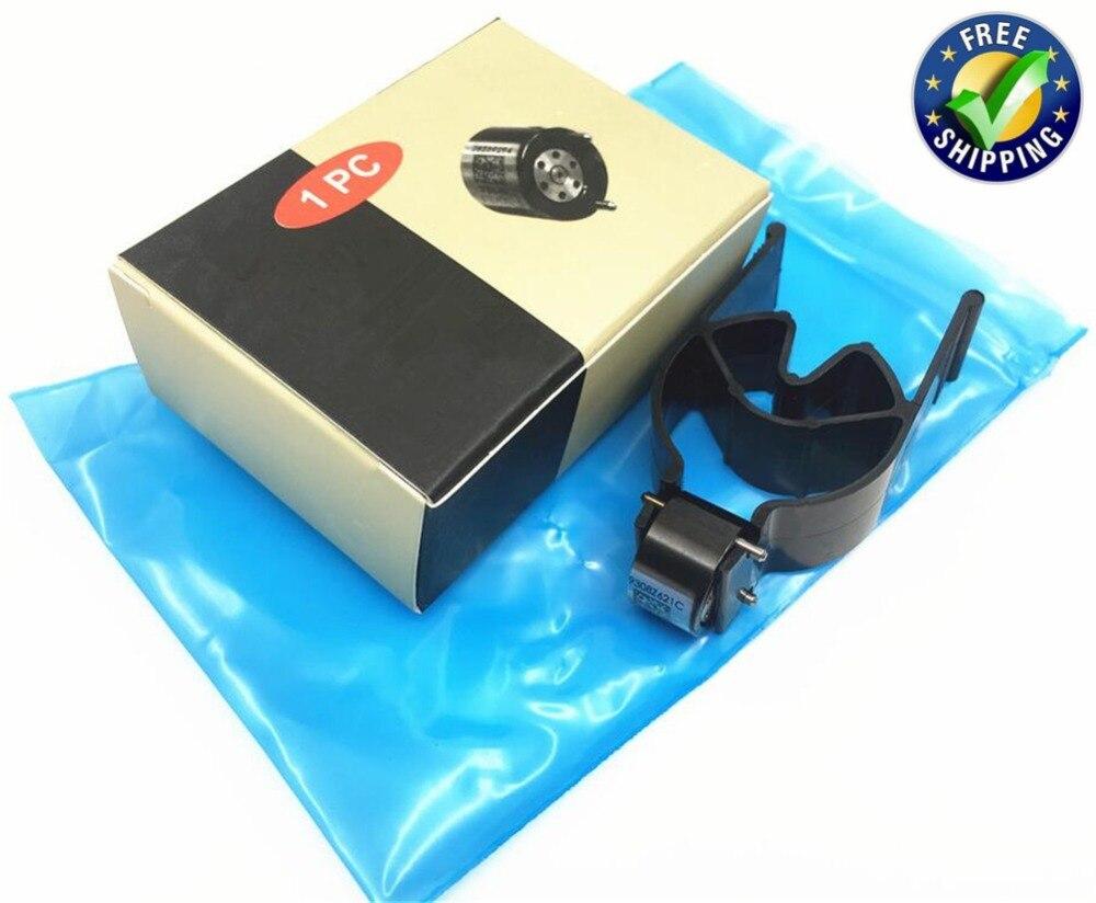 4pcs High Quality Euro3 Black Control Valves 9308-621C 9308Z621C for Delphi Diesel Common Rail Fuel Injection 28239294 28440421