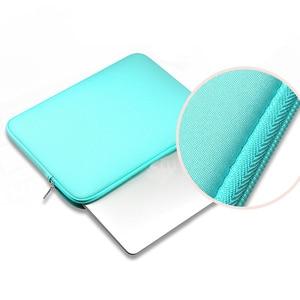 Image 5 - Чехол на молнии для ноутбука Macbook AIR PRO Retina 11 12 13 14 15 13,3 15,4 15,6 дюйма, сумка для ноутбука Xiaomi Lenovo