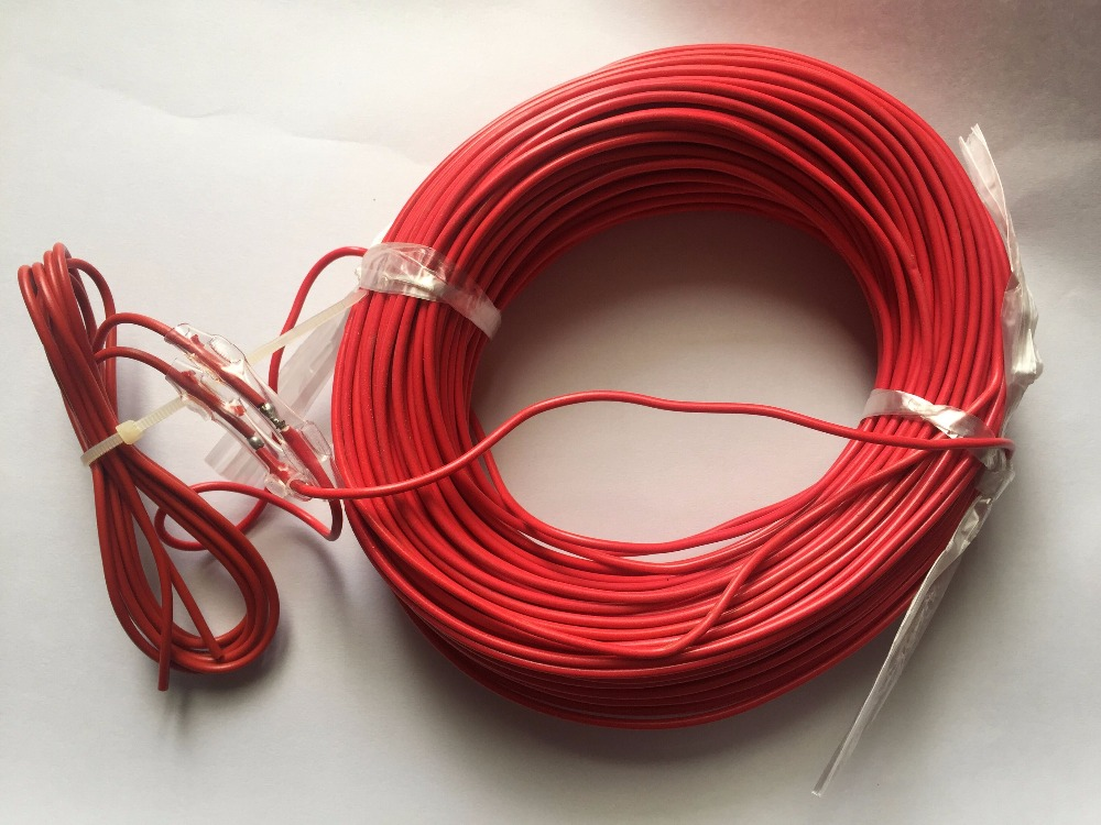 Fast Free Ship 50m Soil Heating Wire/Vegetable Greenhouses Heating Wire,Seedling Soil Heating Cable