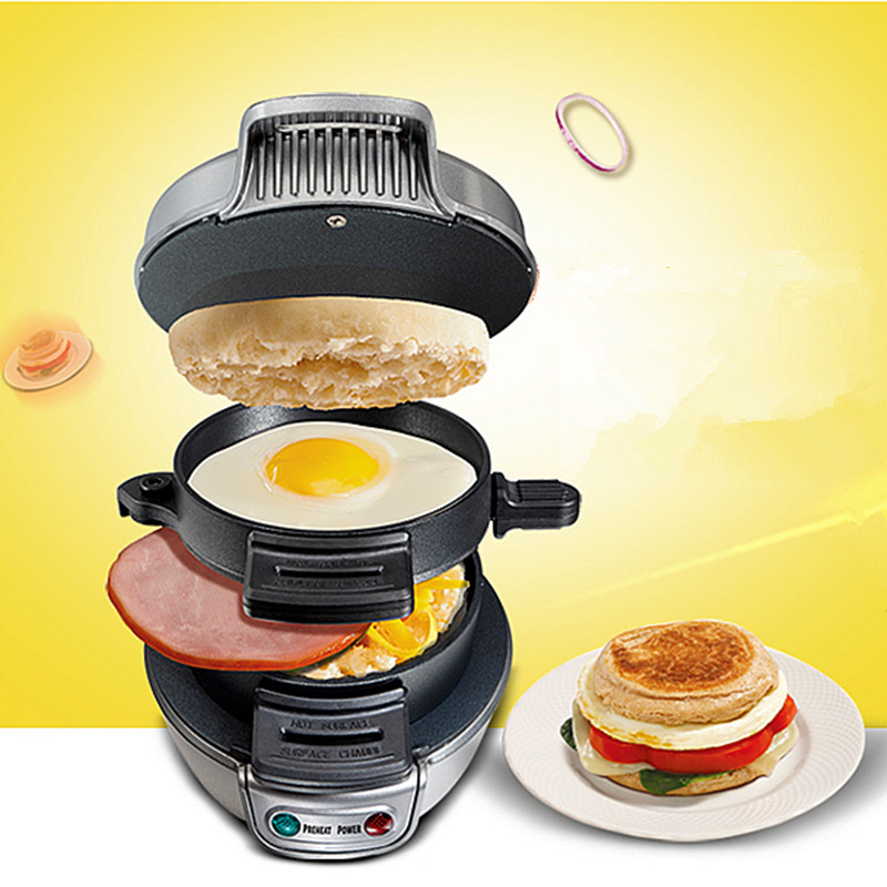 2016 New Cooking Tools Breakfast Sandwich Maker Hamburger Press Burger Maker Barbecue Household Kitchen Pizza BBQ