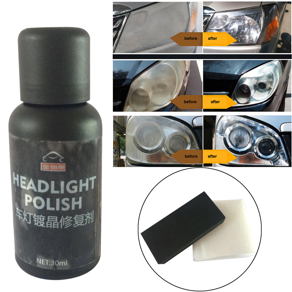 Headlights Ceramic-Coat Glass-Coating Cleaning-Polish 9H Black Super-Hydrophobic Dropship