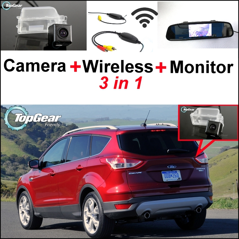 Ford Escape Backup Camera >> 3 In1 Special Camera Wireless Receiver Mirror Monitor Easy Diy