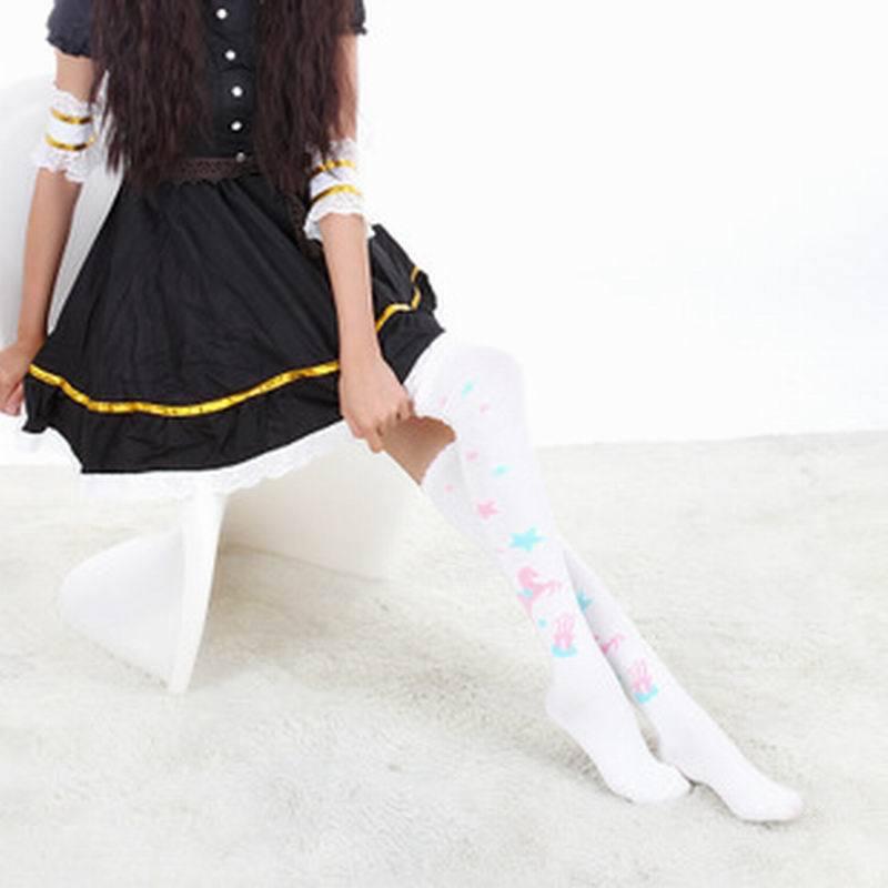 Fetish for girl in white sock