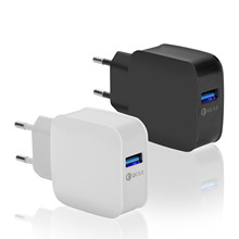 EU Plug USB Charger For iPhone iPad Mobile Phone Charging Travel Wall Charger For Samsung Xiaomi Huawei USB Charger Adapter 5V3A цена