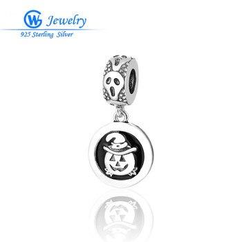 GW joyería del encanto de la plata esterlina 925 Halloween colgante encantos...