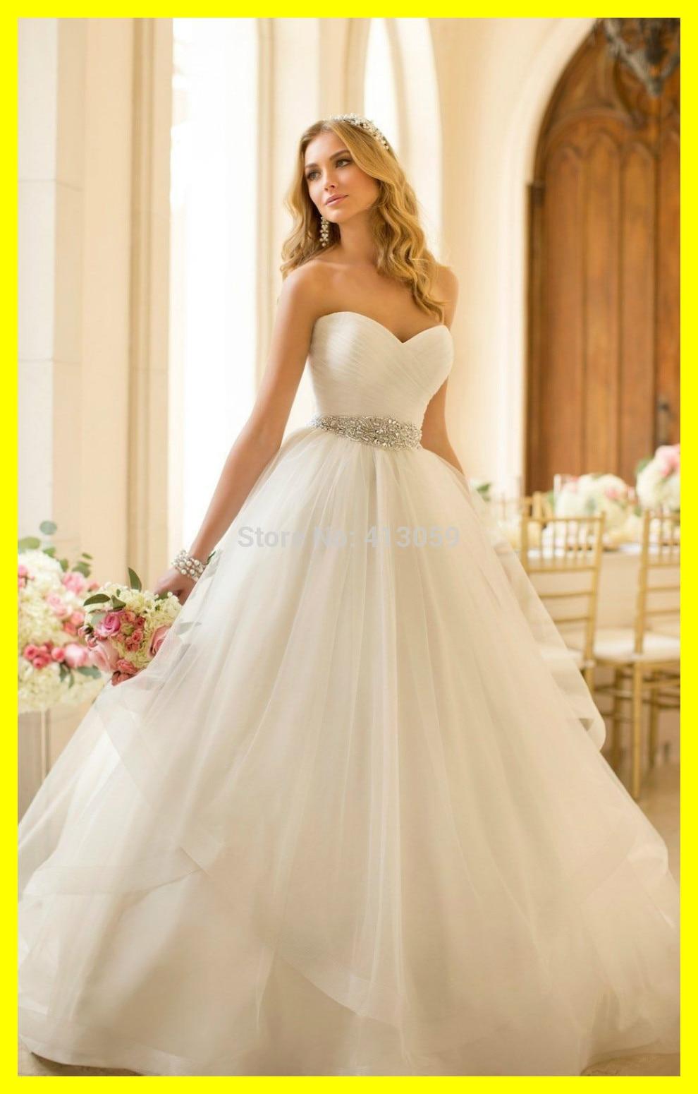 Medium Crop Of Flowy Wedding Dress
