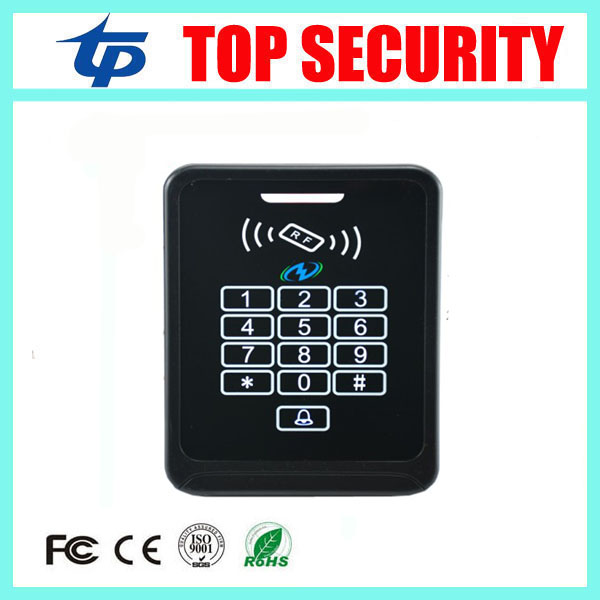 Temper alarm, force open alarm function smart card door access control weigand 125KHZ proximity RFID card access control reader