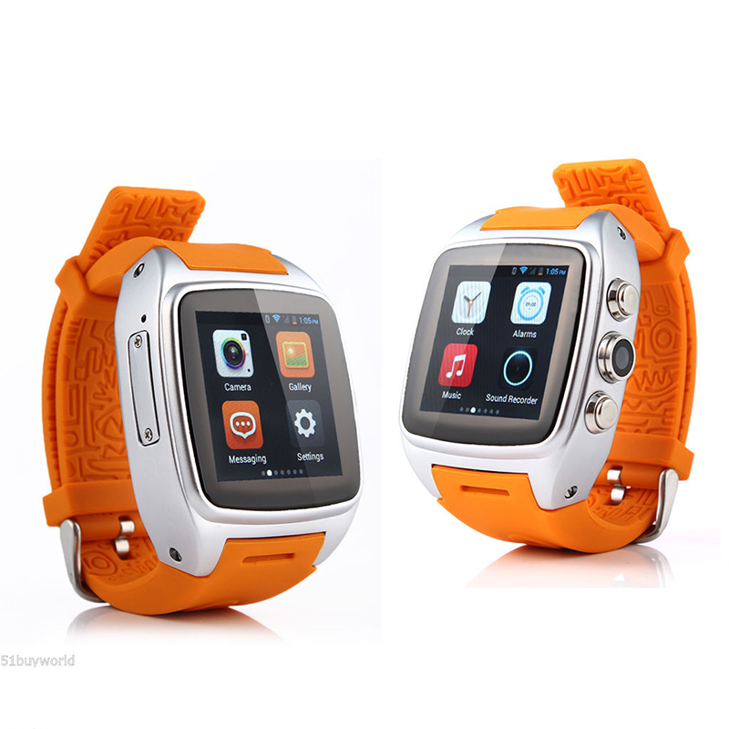 MAHA Hot IMacwear M7 4GB 5MP Android Phone WiFi Waterproof Sport Bluetooth Bracelet Smart Watch