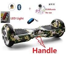 6.5 pouce Adulte Électrique scooter hoverboard planche à roulettes oxboard 2 roues électrique auto équilibrage scooter planche à roulettes gyro scooter