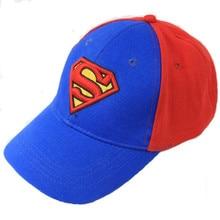 Европа и Соединенные Штаты Супермен Hat Цвет соответствия Уличный танец Хип-хоп Прилив Унисекс Бейсболка Sun Hat