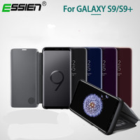 Flip Cover Leather Case For Samsung Galaxy S8 S9 Plus Note 8 Phone Case Smart Chip