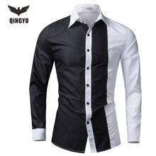 Weyor заклинание camisas сорочка fit случайные рубашка рубашки длинным марка тонкий