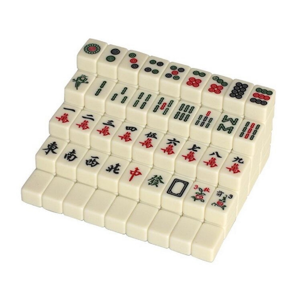 Mini 144 Ubin Mahjong Set Travel Papan Permainan Tradisional Cina Mahjong Game Portabel Ukuran W3164 Game Portable Games Board Gamesgame Game Aliexpress