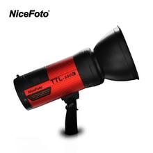 NiceFoto TTL-680C 600W TTL 2.4G Wireless GN68 HSS 1/8000S Studio Flash High Speed Speedlite with Transmitter for Canon Camera nicefoto ttl 680c 600w ttl 2 4g wireless gn68 hss 1 8000s studio flash high speed speedlite with transmitter for canon camera