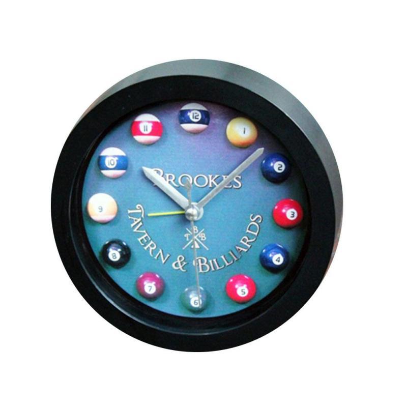 Billiards lazy little alarm clock Watch furniture Creative Bedroom Study Children Room Snooze Clock Student Alarm Clocks Cute 3