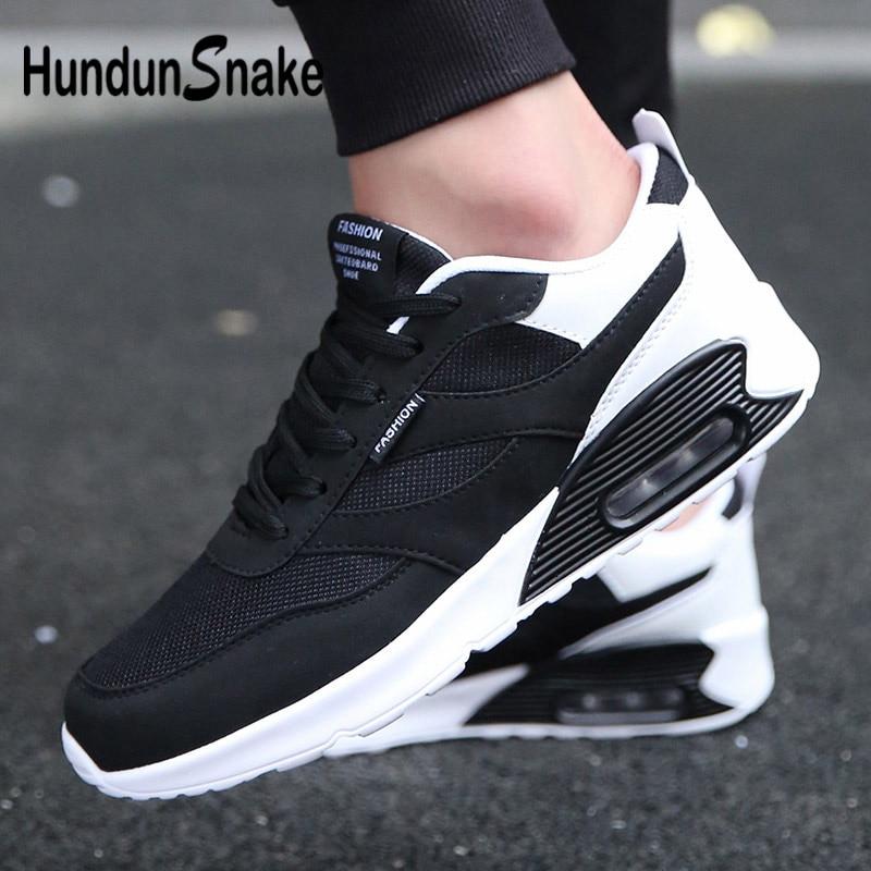 Hundunsnake Air Mesh Sneakers Male Adult Men Running Shoes Sports Men Shoes Sport Shoe Meskie Krasovki Men Basket Homme 2018 G-1