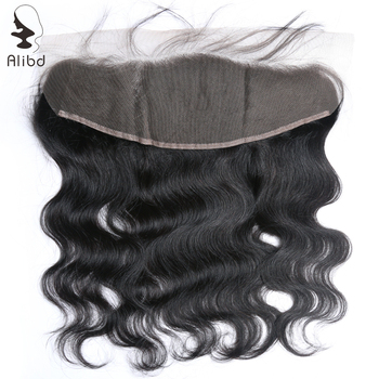 Alibd Lace Frontal Closure Peruvian Body Wave Human Hair Ear To Ear Front Closure Hair Extension 13*4 Remy Hair Top Closures
