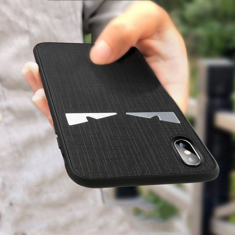YAGOO For iphone X 7 6 8 plus case luxury soft leather back cover solid color silicon phone case for iphone X 7 plus coque funda