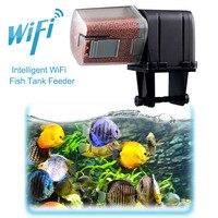 Автоматический податчик для рыбы wi-fiпрограммируемый смарт-устройство приложение контролируемый садок для рыбы диспенсер Новый