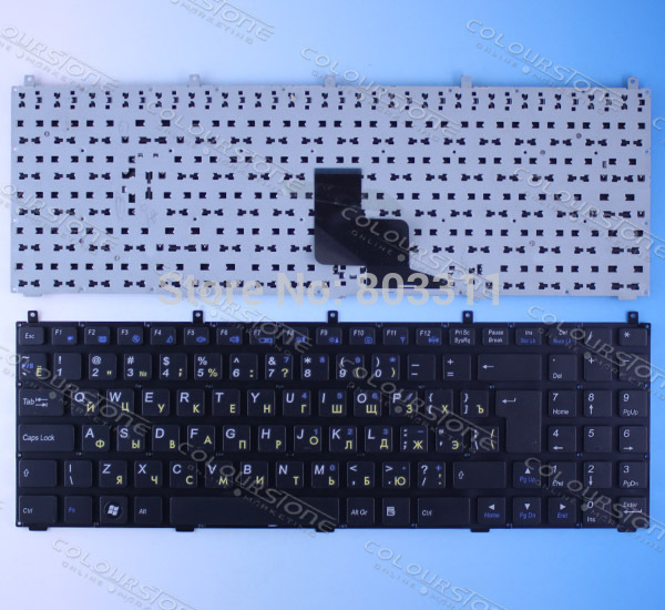 Russian Black Laptop Keyboard for Casper W765S DNS 0123975 CLEVO PHILCO 15A SIM2000 RU Black laptop keyboard new laptop keyboard for dns 0155814 0155827 ru russian black as photo