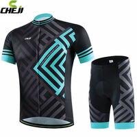 2017 cheji homens ao ar livre ciclismo jersey bicicleta bib ropa ciclismo bicicleta roupas esportivas desgaste respirável s-3xl