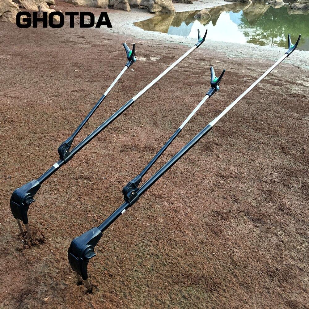 Новый Хорошо 1.7 м 2.1 м нержавеющей Спорт на открытом воздухе Профессиональный переносной регулируемая подставка Рыбалка стержня остальные ... ...