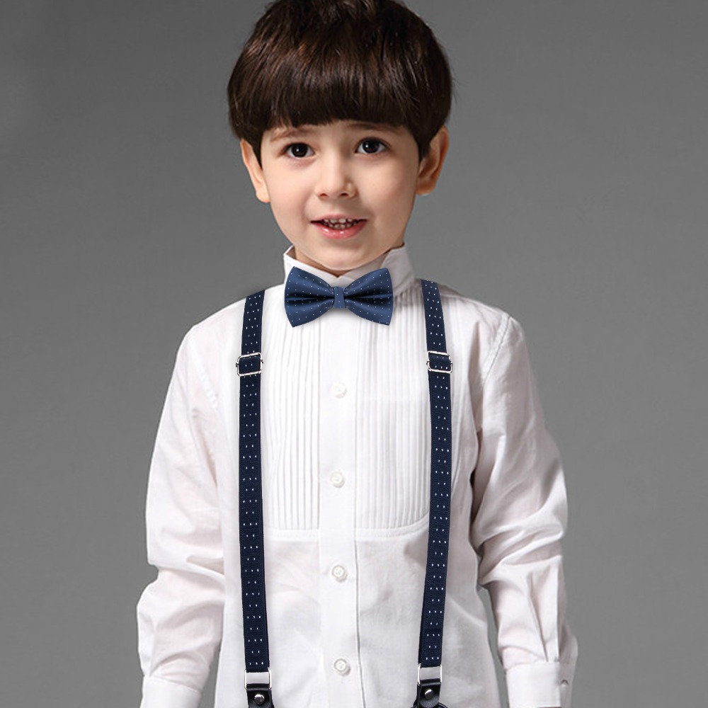 Boys Formal Ties Boys Navy Elasticated Tie Baby Boys Navy Tie