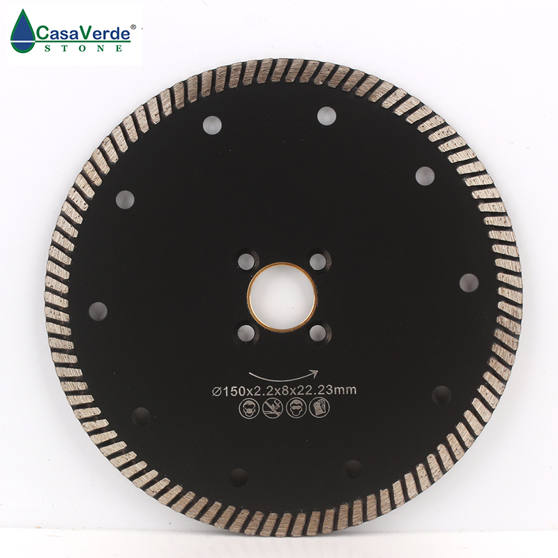 Free Shipping DC-CRTB03 6 Inch Diamond Cutting Blade 150mm  For Granite And Marble Circular Saw Blade