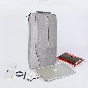 Image 5 - กระเป๋าแล็ปท็อป 14 นิ้ว 15 นิ้วกระเป๋าโน๊ตบุ๊คสำหรับ MacBook Air 13 แล็ปท็อปแบบพกพากระเป๋าถือ 15.6 กระเป๋าถือสำหรับแท็บเล็ต